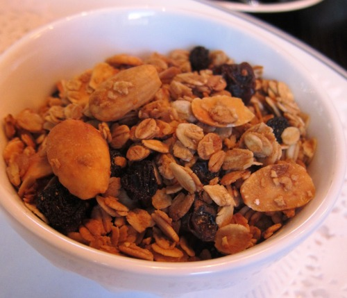 Bowl of Muesli & Yoghurt