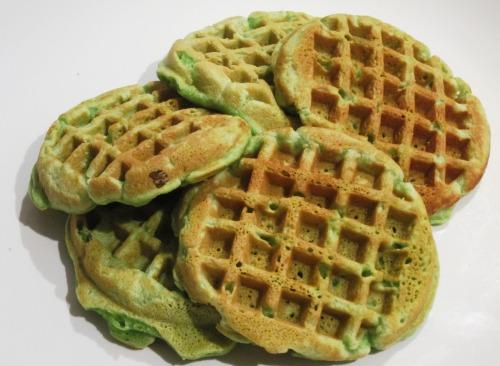 Pandan Waffles 2