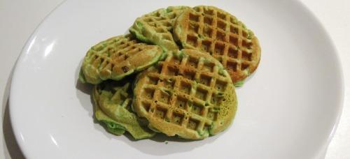 Pandan Waffles 3