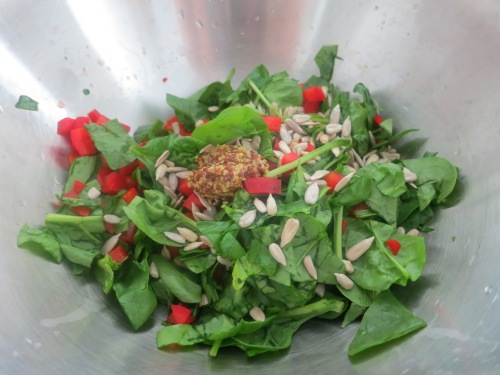 Spinach Mixture 1