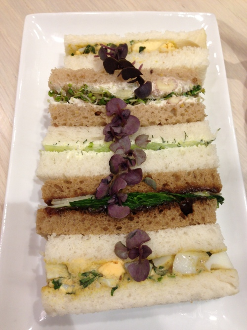 Vegetarian Finger Sandwiches