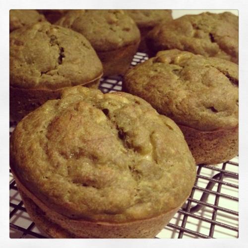 Vegan Green Tea Muffins Batch 2
