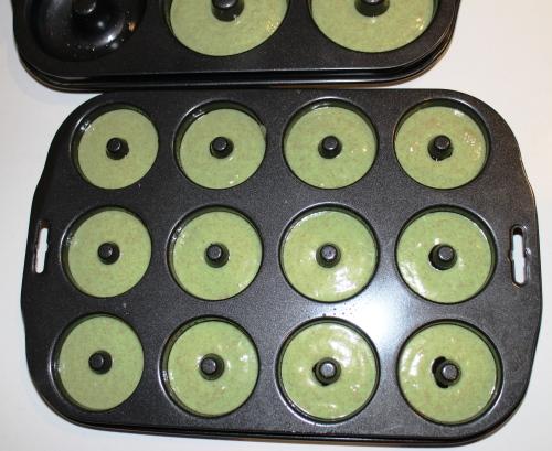 Donut Pans Filled