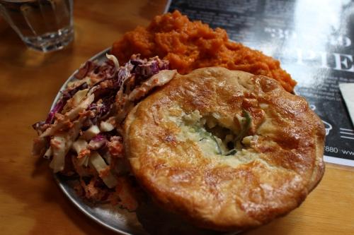 Cauliflower & Zucchini Pie