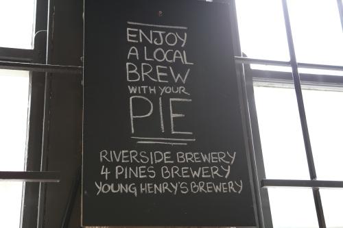 The Pie Tin Interior