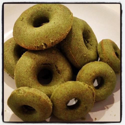 Pandan Donuts
