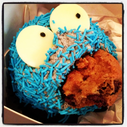 Cookie Monster Close Up