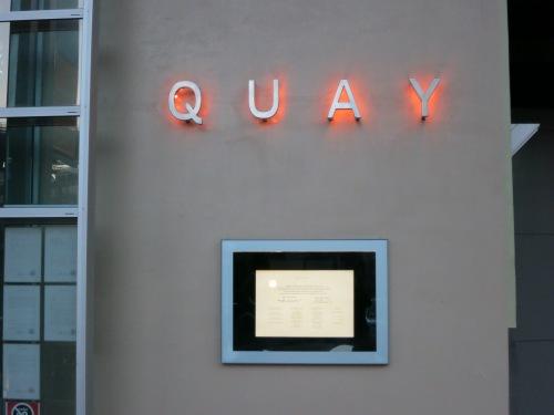 Quay Restaurant Outside