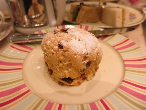 Date and Orange Scone