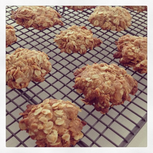 Anzac Cookies Vegan