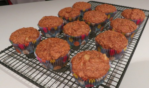 Vegan Wheat Bran Banana Muffins 2