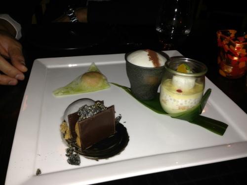 Tasting Plate at Sokyo