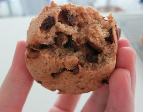 Muffin up close